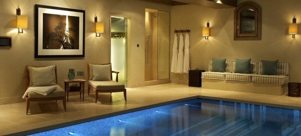 Luxury chalets in Courchevel often come with indoor pool