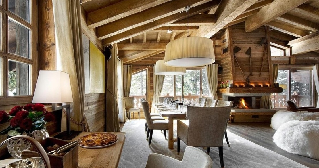 Luxury ski in ski out chalets - Chalet Gentianes, Courchevel 1850