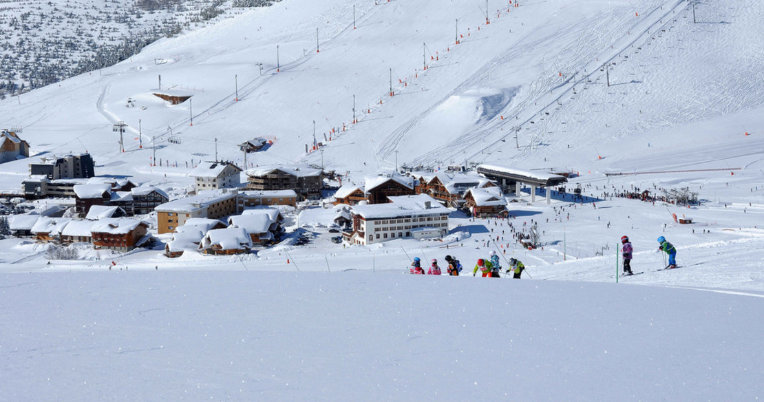 ski in ski out chalets in Alpe d'Huez - the Cognet area