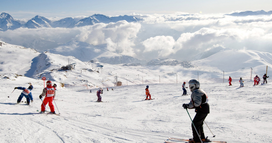 Alpe d'Huez - great skiing for families