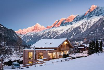 Luxury chalets and hotels in Chamonix Les Houches